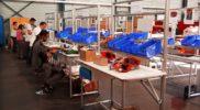 Poste de travail pour Ligne d'assemblage – LeanConcept – Convoyage + Bacs 2 – SMAI