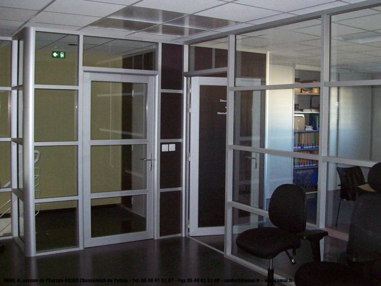 Cloison bureau SMAI